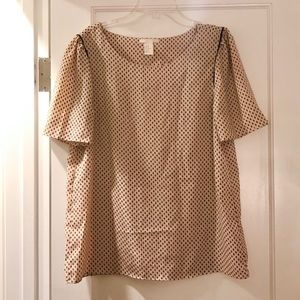 Blush H&M blouse